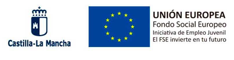 Subvencionado por el Gobierno de Castilla-La Mancha y el Fondo Social Europeo